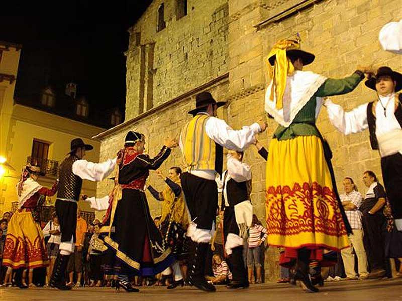 Año 2009 Foto: MAM. Festival Folklórico de los Pirineos de Jaca