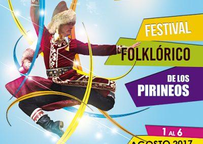 Cartel Festival Folklórico 2017