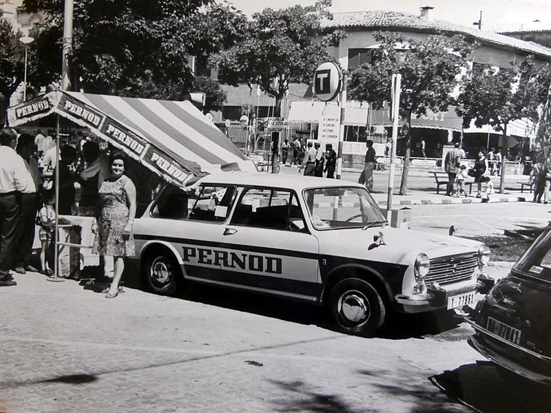 Fotos del Festival Folklórico de los Pirineos de Jaca. Año 1971
