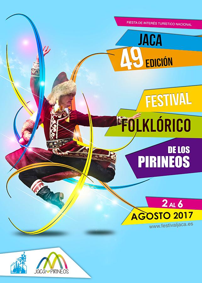 Festival Folklórico de los Pirineos de Jaca Del 2 al 6 de agosto de 2017, Jaca reunirá a grupos folklóricos de los cinco continentes. Pasacalles, actuaciones, actividades paralelas, etc. la convertirán –una vez más– en la capital del folklore. ¡¡Muy pronto, más información!!