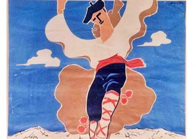 Cartel 1963. Archivo: P. Juanín