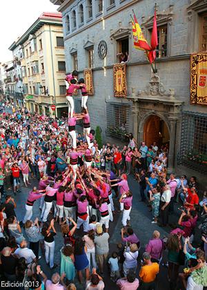 Castellers. Edición 2013