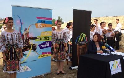 El Festival Folklórico de los Pirineos 2017 ya tiene cartel y avance de programación
