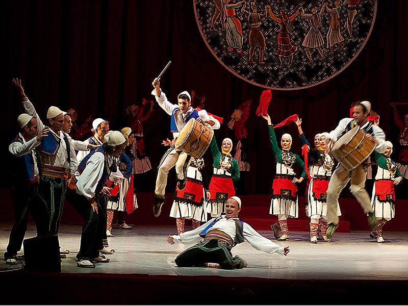 "Albania: Grupo Folklórico nacional ""Arbana"""