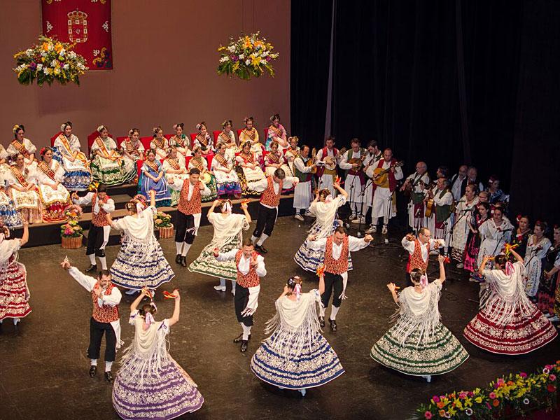 """España: Grupo folklórico """"Virgen de la Vega"""" Murcia"""