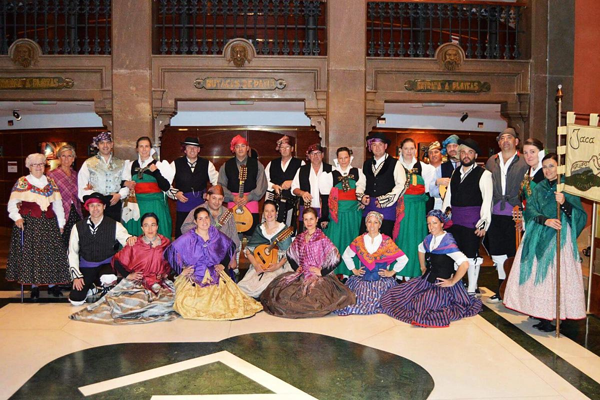 España: Grupo de Jota Uruel de Jaca