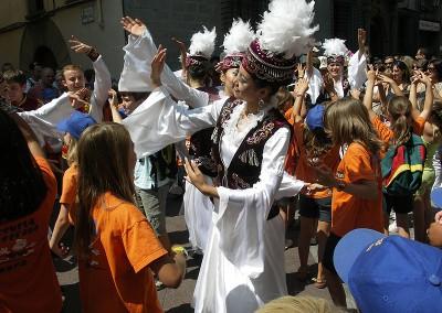 Año 2009 Pasacalles. Festival Folklórico de los Pirineos de Jaca