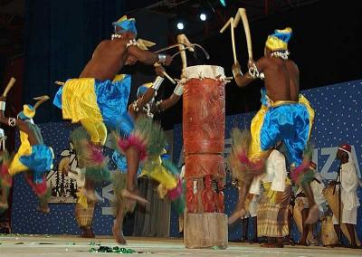 Año 2009 Benin. Festival Folklórico de los Pirineos de Jaca