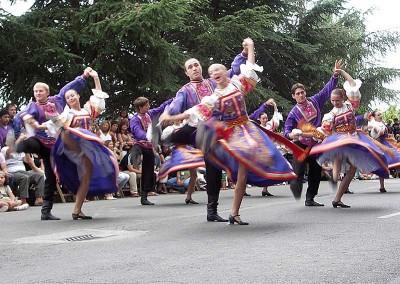 Año 2009 Rusia. Festival Folklórico de los Pirineos de Jaca