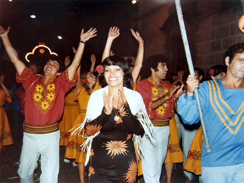 Fotos del Festival Folklórico de los Pirineos de Jaca. Año 1967