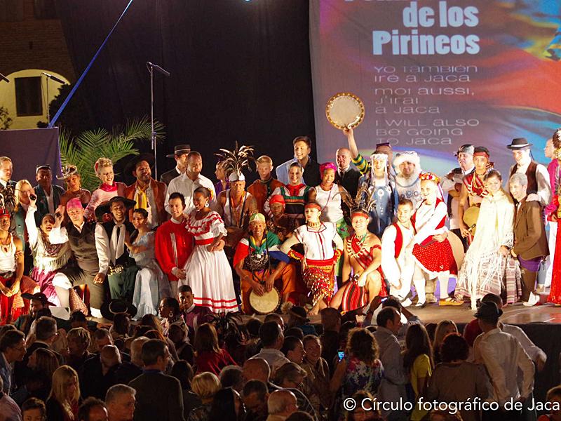 Fotos del Festival Folklórico de los Pirineos de Jaca. Año 2013