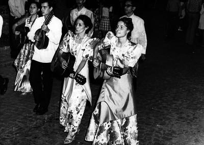 Año 1973 Filipinas. Festival Folklórico de los Pirineos de Jaca © Archivo Municipal