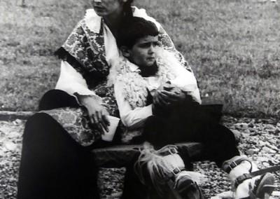 Año 1977. Festival Folklórico de los Pirineos de Jaca © I Concurso. 1º premio. Miguel Ángel Paris. Colección del CIT Jaca