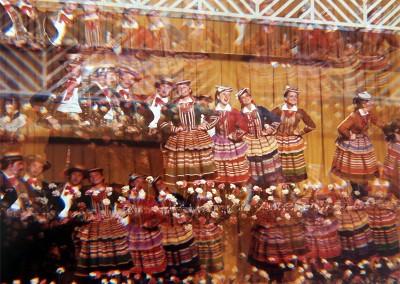 Año 1977. Festival Folklórico de los Pirineos de Jaca © I Concurso. 2º premio . Miguel Escuer. Colección del CIT Jaca