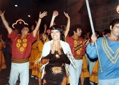 Año 1977. Festival Folklórico de los Pirineos de Jaca © I Concurso. 2º premio local. Damián Bello. Colección del CIT Jaca