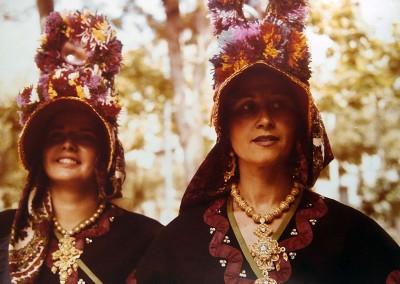 Año 1977. Festival Folklórico de los Pirineos de Jaca © I Concurso. 3º premio. Joaquín Tremps . Colección del CIT Jaca