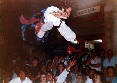 Año 1977. Festival Folklórico de los Pirineos de Jaca © I Concurso. 3º premio local. Antonio Arnedo . Colección del CIT Jaca