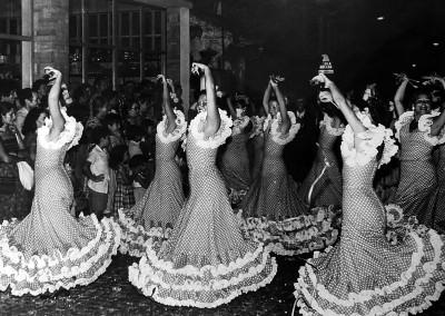 Año 1979. Festival Folklórico de los Pirineos de Jaca © II Concurso. 1º premio. V.J. Barrio. Colección del CIT Jaca
