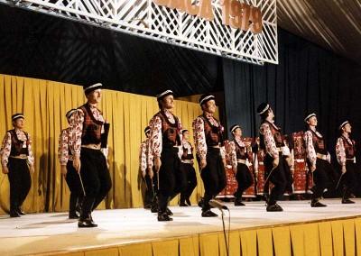 Año 1979 Bulgaria. Festival Folklórico de los Pirineos de Jaca © Archivo Municipal