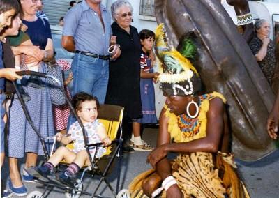 Año 1979. Festival Folklórico de los Pirineos de Jaca © Archivo Municipal