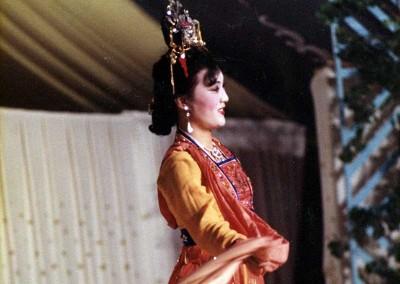 Año 1981 China. Festival Folklórico de los Pirineos de Jaca © Archivo Municipal
