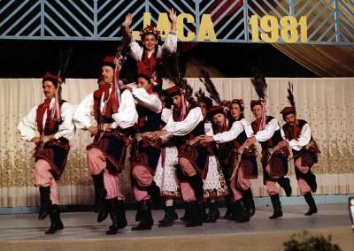 Año 1981 Polonia. Festival Folklórico de los Pirineos de Jaca © Archivo Municipal