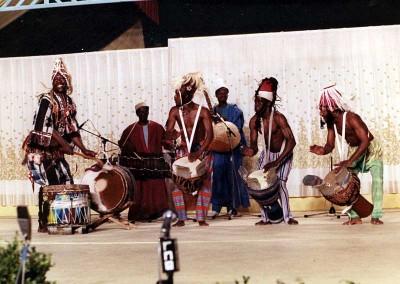 Año 1981 Senegal. Festival Folklórico de los Pirineos de Jaca © Archivo Municipal