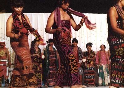 Año 1981 Timor. Festival Folklórico de los Pirineos de Jaca © Archivo Municipal