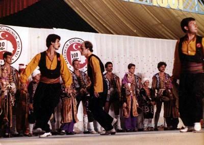 Año 1981 Turquía. Festival Folklórico de los Pirineos de Jaca © Archivo Municipal