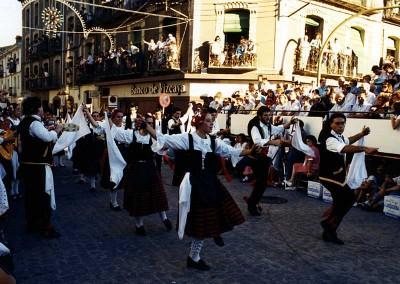 Año 1987. Festival Folklórico de los Pirineos de Jaca © Archivo Municipal