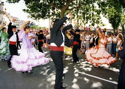 Año 1989. Festival Folklórico de los Pirineos de Jaca © Archivo Municipal