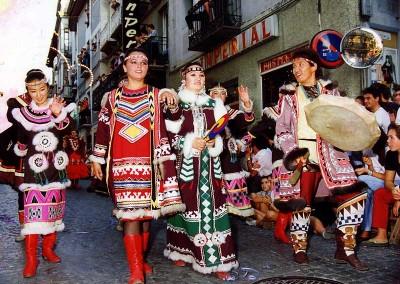 Año 1991. Festival Folklórico de los Pirineos de Jaca © Archivo Municipal