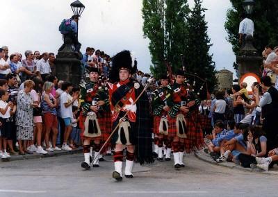 Año 1995. Festival Folklórico de los Pirineos de Jaca © Archivo Municipal