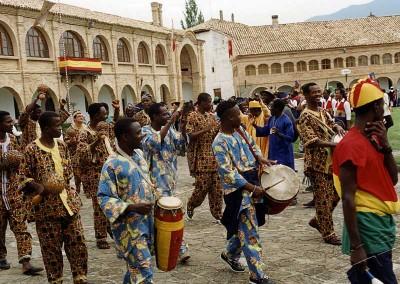 Año 1997. Festival Folklórico de los Pirineos de Jaca © Archivo Municipal