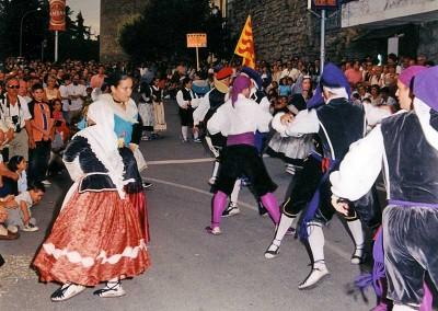 Año 1999. Festival Folklórico de los Pirineos de Jaca © Archivo Municipal
