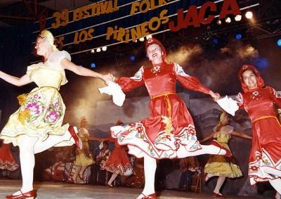 Año 2001 Bielorusia. Festival Folklórico de los Pirineos de Jaca. Gabinete de Prensa