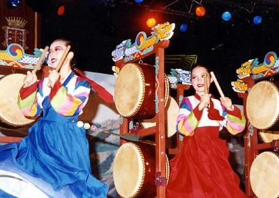 Año 2001 Corea. Festival Folklórico de los Pirineos de Jaca. Gabinete de Prensa