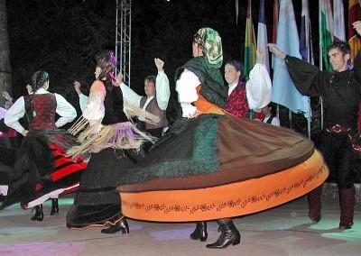 Año 2003 Lembranzas galegas. Festival Folklórico de los Pirineos de Jaca