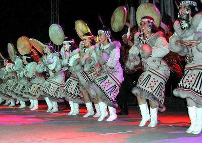 Año 2003 Kamchatka. Festival Folklórico de los Pirineos de Jaca