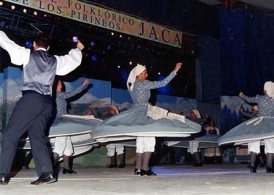 Año 2003 Fuenteagria. Festival Folklórico de los Pirineos de Jaca