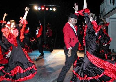 Año 2003 Flamenco. Festival Folklórico de los Pirineos de Jaca
