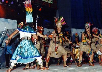 Año 2003 Fidji. Festival Folklórico de los Pirineos de Jaca