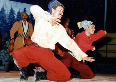 Año 2003 Doncossacks. Festival Folklórico de los Pirineos de Jaca
