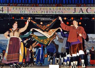 Año 2003 Grupo Altoaragón de Jaca. Festival Folklórico de los Pirineos de Jaca