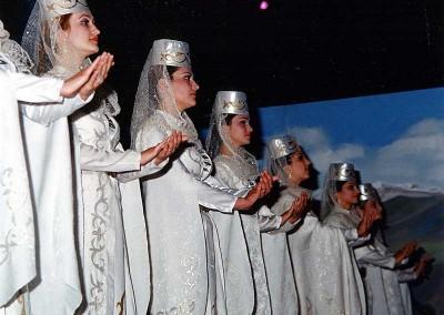 Año 2003 Ossetia. Festival Folklórico de los Pirineos de Jaca