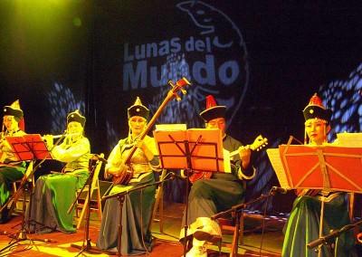 Año 2005 Lunas del Mundo. Festival Folklórico de los Pirineos de Jaca.