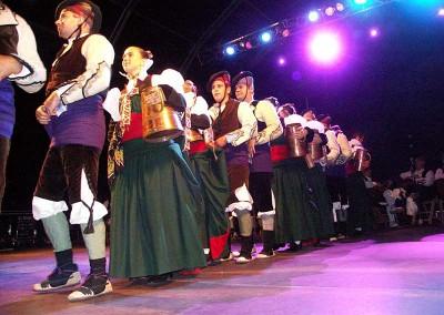 Año 2005 Grupo Val d'Echo. Festival Folklórico de los Pirineos de Jaca.