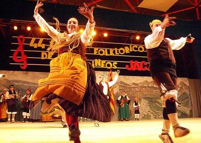 Año 2007 Grupo Altoaragón de Jaca. Festival Folklórico de los Pirineos de Jaca