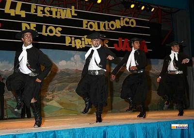 Año 2007 Argentina. Festival Folklórico de los Pirineos de Jaca