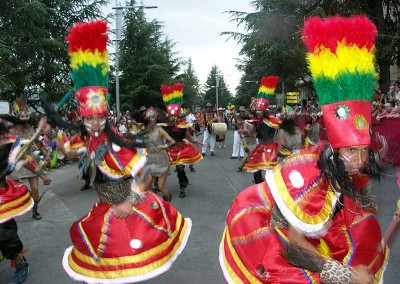 Año 2007 Bolivia. Festival Folklórico de los Pirineos de Jaca